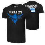 """The Rock """"Smackdown"""" Authentic T-Shirt"""