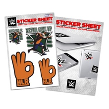 "John Cena ""15X"" Sticker Sheet"