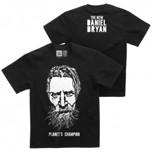"Daniel Bryan ""Planet's Champion"" Youth Authentic T-Shirt"