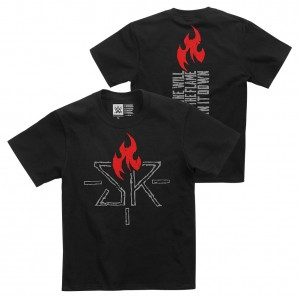 """Seth Rollins """"Ignite the Will"""" Youth Authentic T-Shirt"""