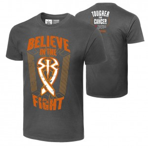 "Roman Reigns ""Tougher Than Cancer"" Authentic T-Shirt"