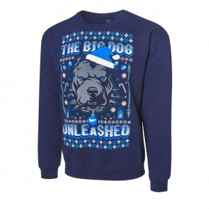 "Roman Reigns ""The Big Dog Unleashed"" Ugly Holiday Sweatshirt"