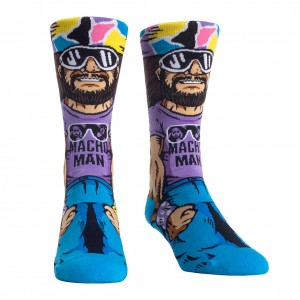 "Macho Man ""Cream of the Crop"" Rock 'Em Socks"