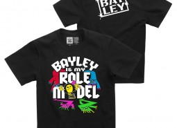 """Bayley """"Bayley is My Role Model"""" Youth Authentic T-Shirt"""