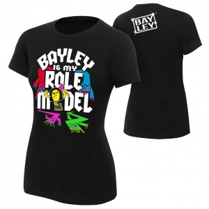 "Bayley ""Bayley is My Role Model"" Women's Authentic T-Shirt"