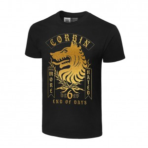 """King Corbin """"None More Hated"""" Authentic T-Shirt"""