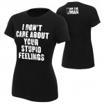 "Becky Lynch ""I Don't Care About Your Feelings"" Women's Authentic T-Shirt"