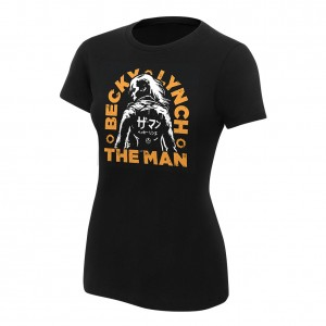 "Becky Lynch ""The Man"" Katakana Women's T-Shirt"