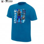 """AJ Styles """"The Face That Runs The Place"""" Neon Collection Graphic T-Shirt"""