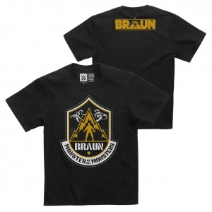 "Braun Strowman ""The Monster of All Monsters"" Youth Authentic T-Shirt"