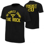 """The Rock """"Bringing it for 20 Years"""" Youth Authentic T-Shirt"""