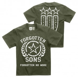 """Forgotten Sons """"Forgotten No More"""" Youth Authentic T-Shirt"""