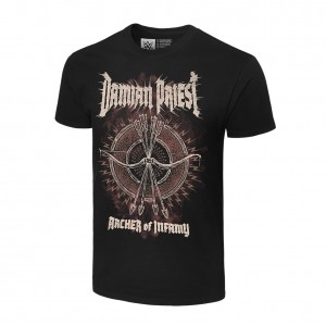 "Damian Priest ""Archer of Infamy"" Authentic T-Shirt"