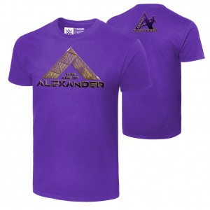 """Cedric Alexander """"The Age of Alexander"""" Authentic T-Shirt"""