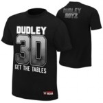 "The Dudley Boyz ""Get The Tables"" Authentic T-Shirt"