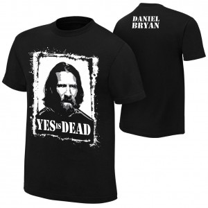 "Daniel Bryan ""Yes is Dead"" Youth Authentic T-Shirt"