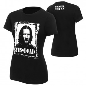 "Daniel Bryan ""Yes is Dead"" Women's Authentic T-Shirt"