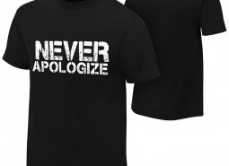 """Dean Ambrose """"Never Apologize"""" Youth Authentic T-Shirt"""
