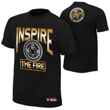 """Becky Lynch """"Inspire The Fire"""" Authentic T-Shirt"""