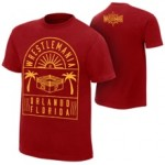 "WrestleMania 33 ""Ring Red"" T-Shirt"