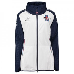 Williams Martini Racing 2018 Team Rain Jacket - Womens