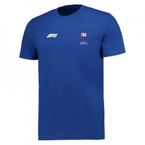Formula 1 French Grand Prix 2018 Laurel Leaf T-Shirt - Royal
