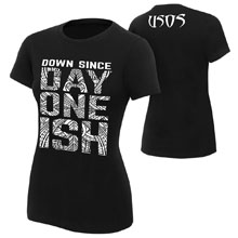 "The Usos ""Down Since Day One Ish"" Women's Authentic T-Shirt"