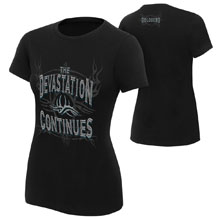 "Goldberg ""Devastation Continues"" Women's Authentic T-Shirt"