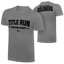 "Goldberg ""Title Run"" T-Shirt"