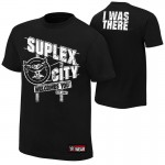 """Brock Lesnar """"Suplex City Welcomes You"""" Authentic T-Shirt"""