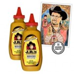 JR's Main Event Mustard Package with free signed Thank You note