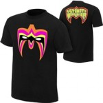 """Ultimate Warrior """"Parts Unknown"""" Black T-Shirt"""