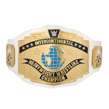 WWE White Intercontinental Championship Commemorative Title Belt (2014)