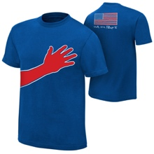 "Jack Swagger ""We The People"" All-American Authentic T-Shirt"
