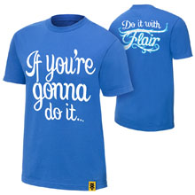 """Charlotte """"Do It With Flair"""" Authentic T-Shirt"""