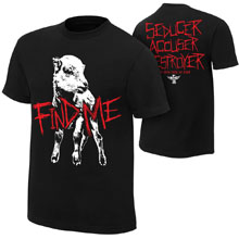 "Bray Wyatt ""Find Me"" Authentic T-Shirt"