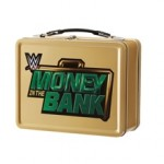 WWE Money in the Bank Briefcase Lunch Box