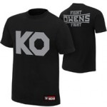 """Kevin Owens """"KO Fight"""" Authentic T-Shirt"""