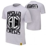 """Apollo Crews """"Since Day 1"""" Authentic T-Shirt"""