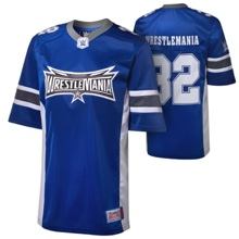 WrestleMania 32 Football Youth Jersey (Size Large)