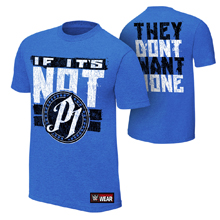 """AJ Styles """"They Don't Want None"""" Youth Authentic T-Shirt"""