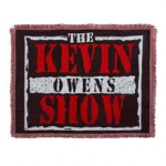 "Kevin Owens ""Kevin Owens Show"" Tapestry Blanket"