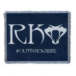 """Randy Orton """"#OuttaNowhere"""" Tapestry Blanket"""