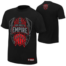 "Roman Reigns ""From Ashes to Empire"" Youth Authentic T-Shirt"