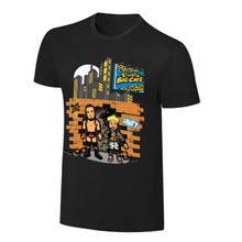 """WWE x NERDS Enzo & Cass  """"Realest Guys in The Room"""" Cartoon T-Shirt"""