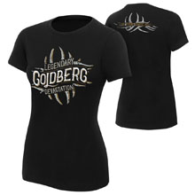 "Goldberg ""Legendary Devastation"" Women's Authentic T-Shirt"