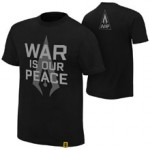 """Authors of Pain """"War is our Peace"""" Authentic T-Shirt"""