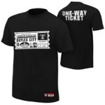 "Brock Lesnar ""One Way Ticket"" Youth Authentic T-Shirt"
