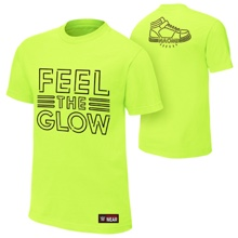 """Naomi """"Feel The Glow"""" Neon Authentic T-Shirt"""