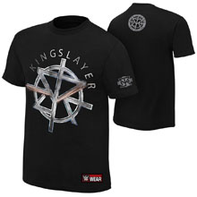"""Seth Rollins """"The Kingslayer"""" Authentic T-Shirt"""